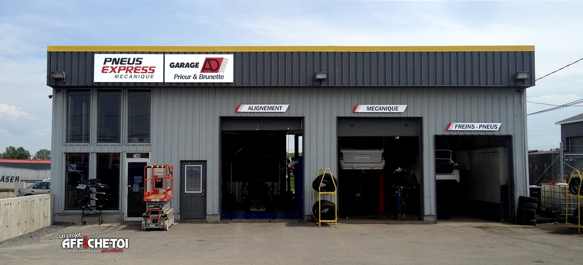 Garage ad prieur enseigne for Garage ad briollay